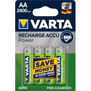 Varta Power Akku Ready2Use HR6 Migon AA 4er Blister 2600mAh