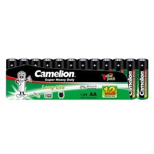 Batterie Camelion Super Heavy Duty R6 / Mignon / AA (12er Shrink)
