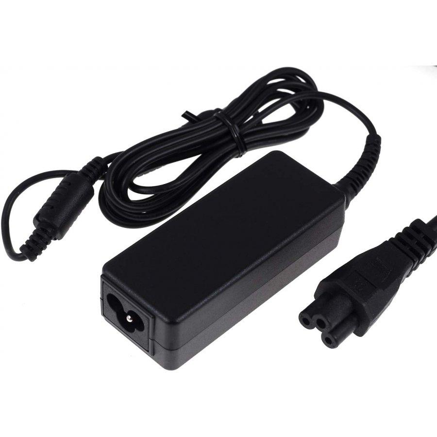Notebook Netzteil 19v 45w Mit Stecker 65mm X 45mm 1225mm Adaptor Charger Laptop Acer Aspire One 532h D255 D257 D260 722 532 725