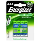 Energizer Universal HR03 Akku Ready to Use 4er Blister
