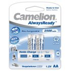 Camelion HR6 Mignon AA AlwaysReady 2er Blister 2500mAh