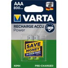 Varta Power Akku Ready2Use TOYS Micro AAA 2er Blister