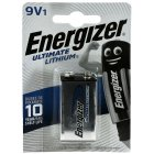 Energizer Ultimate Lithium Batterie LA522-E-Block  9V-Block Blister