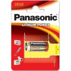 Foto Batterie Panasonic Photo Power 123 CR123A RCR123 1er Blister