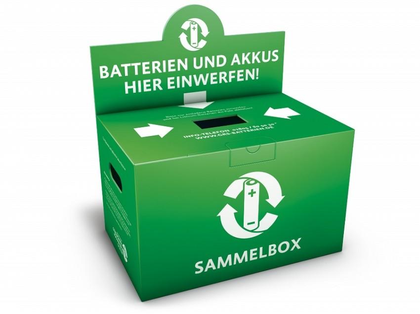Sammelbox batterien