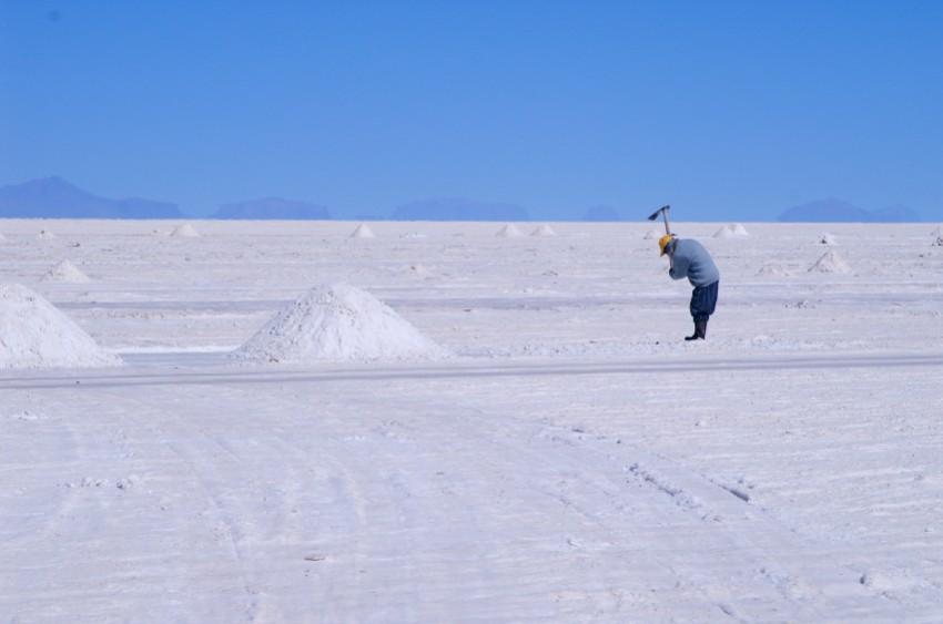 Lithiumgewinnung in Bolivien - iStock capraibex